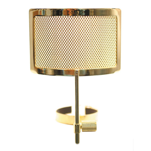 MXL PF-004 Gold Metal Mesh Pop Filter 골드 메탈 매쉬 팝필터