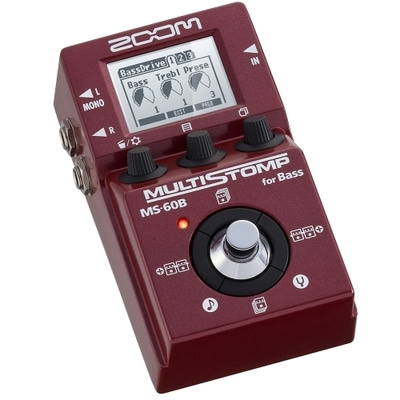 ZOOM MS-60B MultiStomp 베이스 이펙터