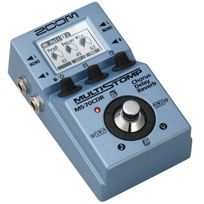 ZOOM MS-70CDR MultiStomp Chorus / Delay / Reverb 이펙터